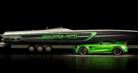 Mercedes AMG 50 Marauder Boat